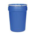 Poly Spill Containment Drums (30 Gallon Lab Pack W/ Metal Lever Ring - Blue)