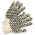 PVC Dotted String Knit Gloves (Dotted Both Sides)