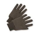 Standard Poly/Cotton Brown Jersey Gloves (Men's)