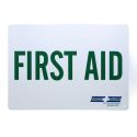 Green Guard First Aid Sign